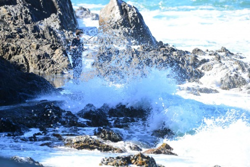 Peche plage Saint-Vincent. numero DSC_3758