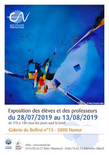 Portrait D Une Eleve De L Ecole D Aquarelle Namuroise Videos
