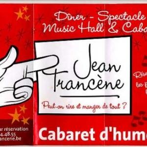JeanTrancene, cabaret, humour, gastronomie