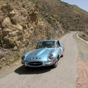 Une des Jaguar participantes