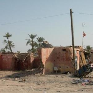 Les faubourgs de Marrakech en cours de renovation