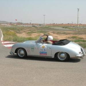 L'epreuve sur le circuit de Marrakech