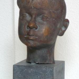 Portrait en bronze (Gregor Hooffman (Belgique - Rodt)