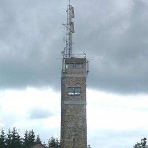 Robertville : la tour de Botrange