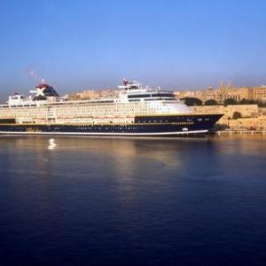 Cruise Liner in Harbour - (c) Malta Tourism Authority