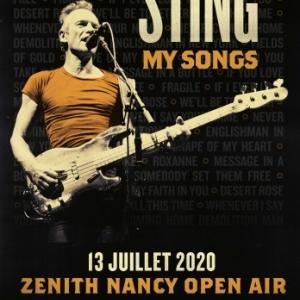 STING - Nancy Open Air, 13 juillet 2020