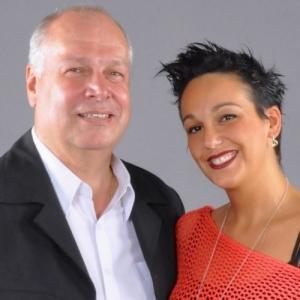 Pierre Theunis et Betty La Ferrara - Credit photo : Rire en Gaume