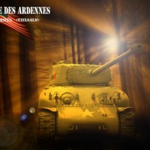 Tank Sherman Vielsalm 3