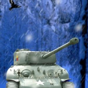 Tank Sherman Vielsalm 1
