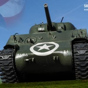 Tank Sherman Bastogne 1