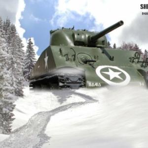Tank Sherman Bastogne 4