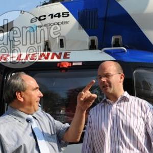 Monsieur le Ministre COURARD avec Monsieur Miermans