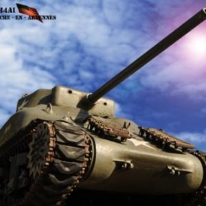 Tank Sherman La Roche -En -Ardennes 2