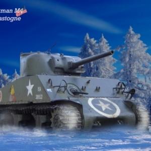 Tank Sherman Bastogne 12