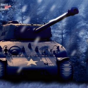 Tank Sherman Vielsalm 2