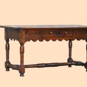 table lorraine francaise ( fin 18eme siecle)