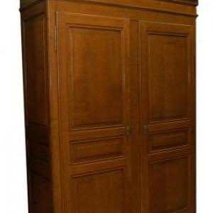armoire ardennaise en chene (milieu 19eme siecle)