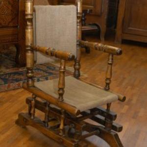 chaise a bascule d enfant