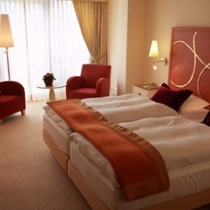 Une chambre de l'hôtel Casino 2000