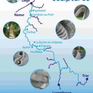 La Roche  parc en Rompré  Route des sculptures