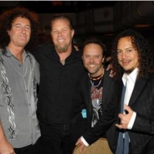 Brian May (Queen) et Metallica