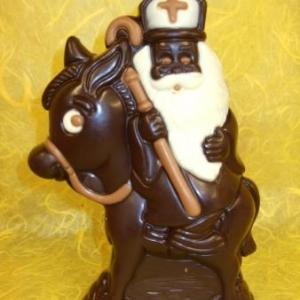 St Nicolas a déposé ses chocolats