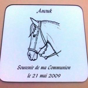 Communion tête de cheval