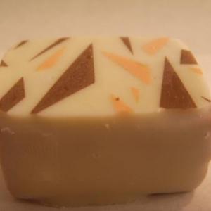 Mosaique praline choclat blanc et lait