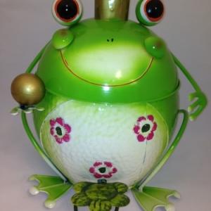 Poubelle grenouille