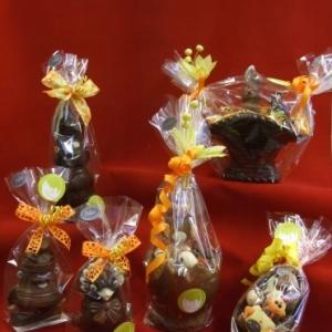 Oeufs de Pâques en chocolat