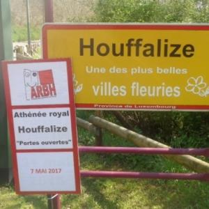 Houffalize, portail par la route de Liege . 11.05.2017