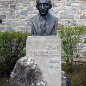 Jean Tousseul (ecrivain, poete, Andenne)