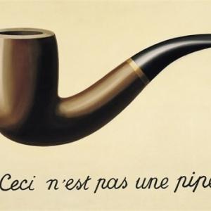 La fameuse pipe de Magritte, me maitre du surrealisme belge
