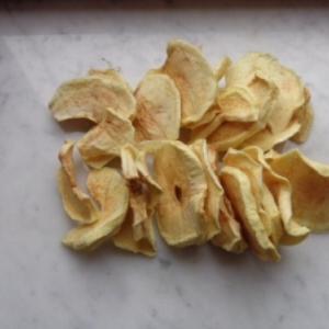 A la fin, 700 gr de pommes en sont devenus 98