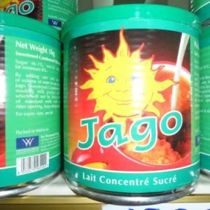 """Jago, le """"lait quotidien"""",  pur sucre et graisse."""