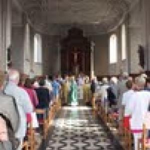 La messe du 12 aout 2012, dernier jour du millenaire