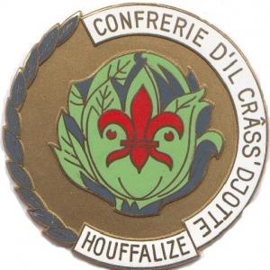 """Sceau de la crass djotte (sic, avec deux """"t"""") , Houffalize."""