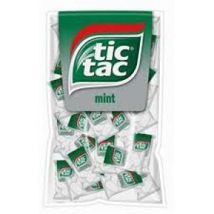 """La friandise bien connue """"tic tac""""."""