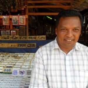 Le president du marche Pochard, Tananarive