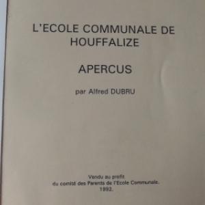 Le livre d'Alfred Dubru.