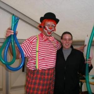 36. un clown, cela peut aussi avoir sa propre enfant!