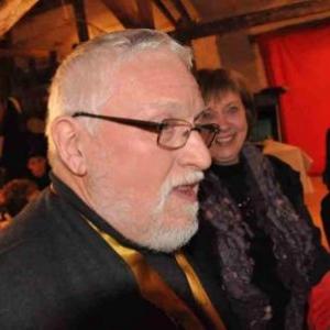 Chapitre de la Chouffe, 17 mars 2012. Jacques Sacre incognito.