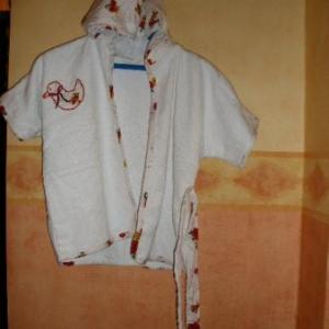 """24. peignoir """"nourrisson"""", atelier de formation couture Casbah d'Alger(12 euros)"""