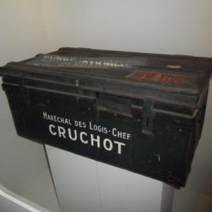 La malle du marechal des logis-chef Cruchot