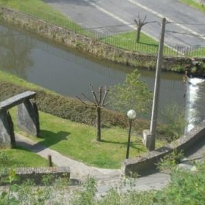 Houffalize, portail par le folf et pontde la Promenande. 11.05.2017