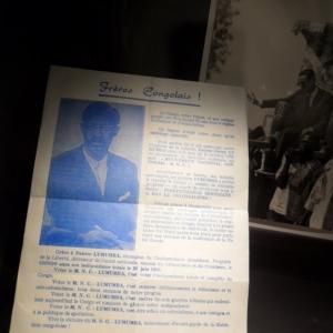 Un tract du MNC de Patrice Lumumba