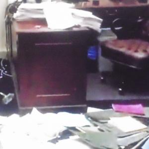 Bureau du Capitole dévasté le 6 janvier 2021