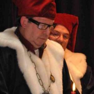 Chapitre de la Chouffe, 17 mars 2012. Le Grand Maitre J. Jaminon tel qu'en lui-meme.
