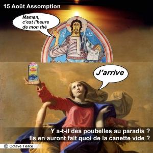 Assomption, 15 aout