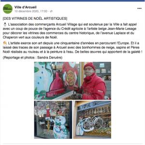 Journal du site d'Arcueil du 10 décembre 2020